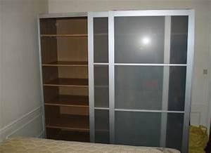 Ikea Armoire Porte Coulissante : armoire de bureau porte coulissante occasion ~ Nature-et-papiers.com Idées de Décoration