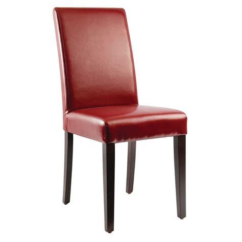 chaise en simili cuir chaises en simili cuir gastromastro sas