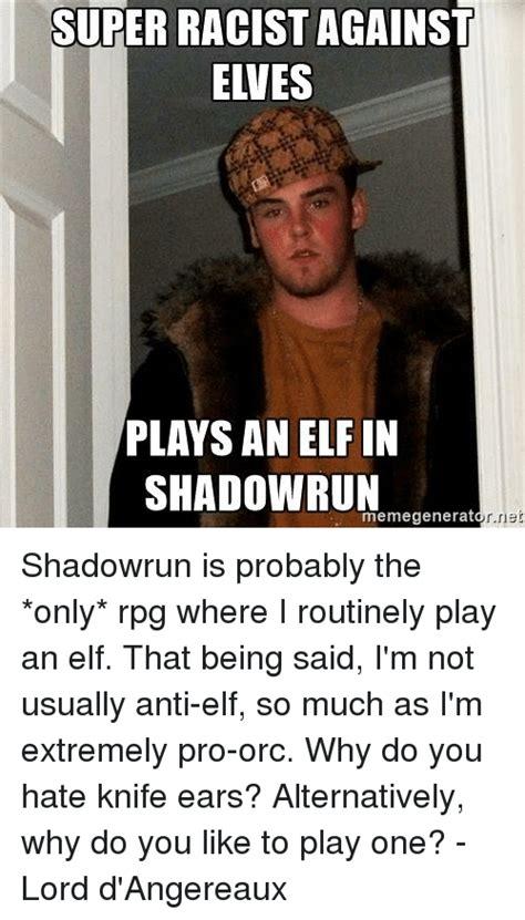Shadowrun Memes - funny elf memes of 2016 on sizzle christmas