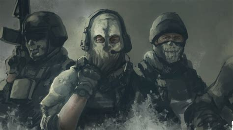 Mw2 Ghost Wallpaper 71 Images
