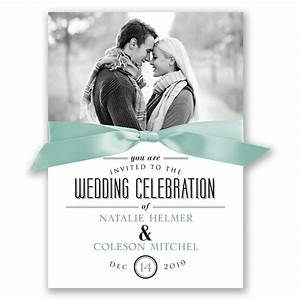 a wedding celebration invitation invitations by dawn With wedding invitations with photograph