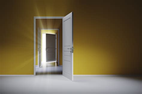 Doors Opening & 3d Animated Open Doors Camera Fly Through