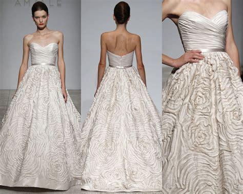 amsale amsale dahlia size  size  wedding dress