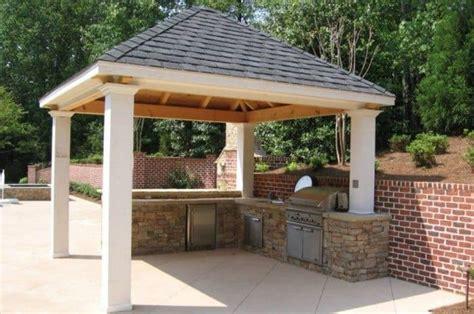 Ideas Of Outdoor Kitchen Roof  Wearefound Home Design