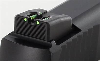 Sights Compact Rear Dawson Precision Optic Fiber