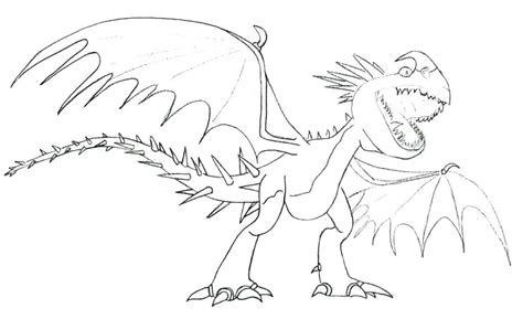 image result    train  dragon light fury  drawing dragon coloring page horse
