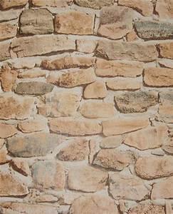steinoptik tapeten tapeten steinoptik haus renovieren With markise balkon mit steintapete vlies tapeten 3d optik
