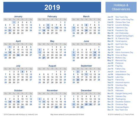 2019 calendar template word 2019 calendar word 2018 calendar with holidays