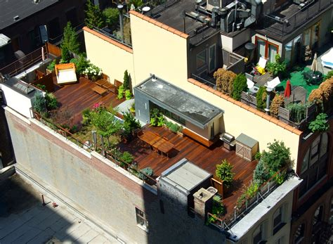 rooftop terrace decks all decked out
