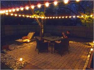 Lighting ideas for outdoor patio effective