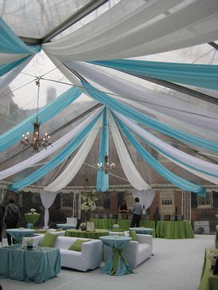 Tent Draping Fabric - ceiling decor for a wedding reception great ceiling