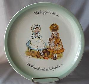 Holly Hobbie Ceramic Collector Plate Colemans
