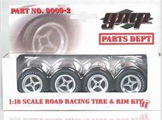 Tire & Wheel Set Can Am McLaren 118, Epic Diecast
