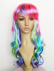 colorful carnival/party wig long wavy from aliexpress.com ...