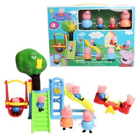 jeux de peppa pig cuisine eiffel fashion figurine peppa pig jouet lot de 4 les