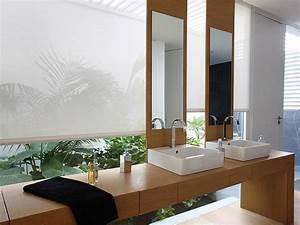 Rollos Für Badezimmer : sichtschutz im bad plissees und rollos f r badezimmer ~ Markanthonyermac.com Haus und Dekorationen