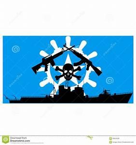 Somali Pirates Stock Vector - Image: 56924028