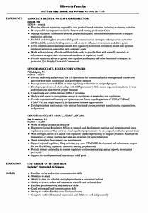 Associate regulatory affairs resume samples velvet jobs for Pharmaceutical regulatory affairs resume sample
