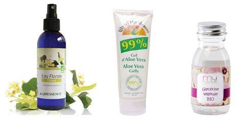 recette de spray hydratant quotidien alo 233 vera et glyc 233 rine cheveux entretien et soins maison