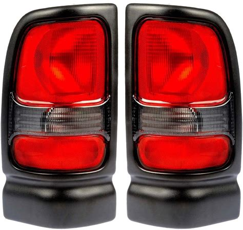 dodge ram tail lights fits 94 01 dodge ram pickup tail light rear l taillight