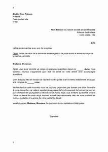 Demande De Pret Caf : modele de lettre gratuite pour demande de conge parental ~ Gottalentnigeria.com Avis de Voitures