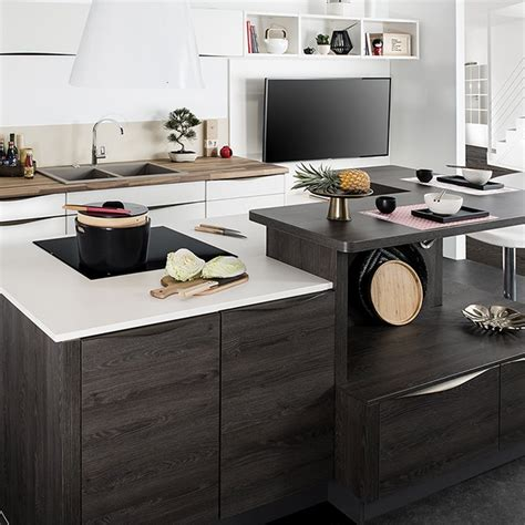 de cuisine darty modele cuisine darty fabulous avalon une cuisine en bois