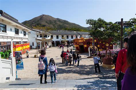 ngong ping village gate  adventures