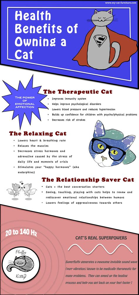 health benefits of owning a cat fluffy