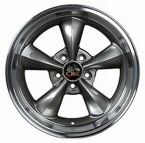 Wheel For 1994-2004 Ford Mustang Rear 17 Inch Alloy Rim 5 Lug 114.3mm Anthracite | eBay