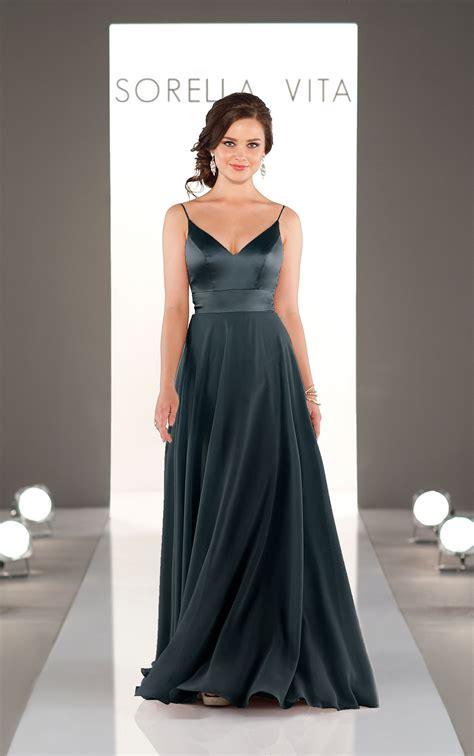 Mixed Fabric Bridesmaid Dress | Sorella Vita Bridesmaid ...