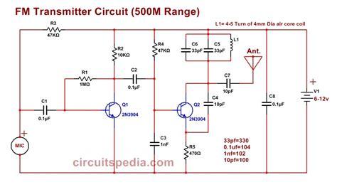 Easy Transmitter Circuit Simple Best