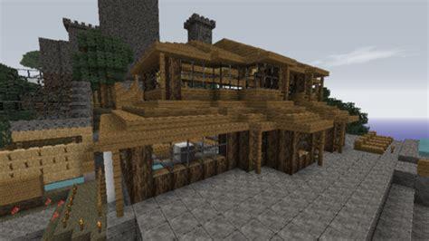 minecraft maison en bois minecraft maison en bois tuto