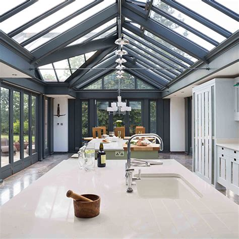 White Modern Kitchen Ideas - six of the best glass extensions ideal home
