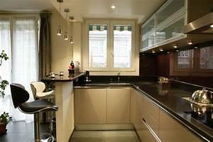 dix idees pour petites cuisines inspiration cuisine With modeles de petites cuisines