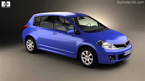 nissan tiida hatchback 2012 nissan tiida c11 hatchback 2012 by 3d model store