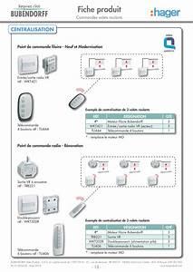 Programmation Telecommande Nice Volet Roulant : centralisation volet roulant filaire hager mesdemos ~ Mglfilm.com Idées de Décoration