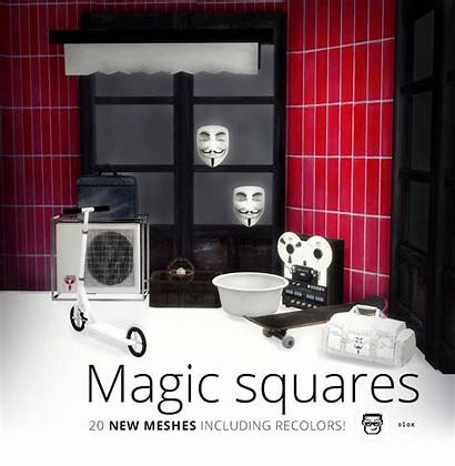 Sims Slox Magic Squares Cc Clutter Uploaded