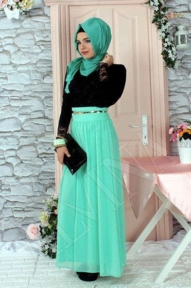 fashion trends hijab  long skirts hijabiworld