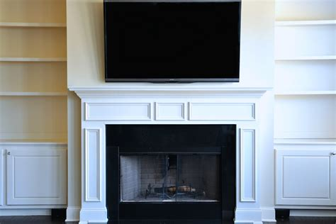 How To Mount A Flat Screen Over The Fireplace And Hide The