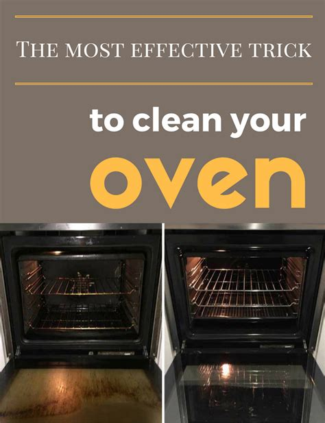 best way to clean oven racks the most effective trick to clean your oven cleaning