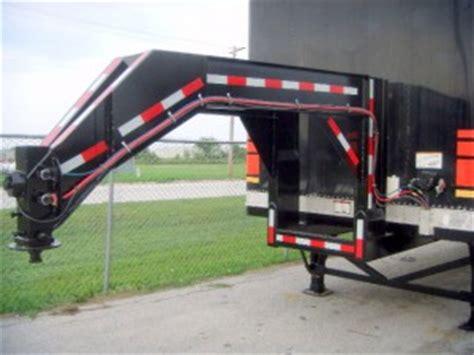 repurposed gooseneck semi trailer conversion repurposed trailers