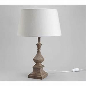 Lampe De Chevet Bois : lampe de chevet bois deco retro chic lampe de table ~ Teatrodelosmanantiales.com Idées de Décoration