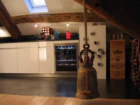 cave a vin de cuisine cuisine sous les voûtes photo 3 7 cave à vin et