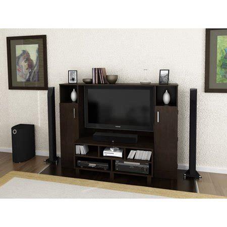 redvale espresso home entertainment center  tvs