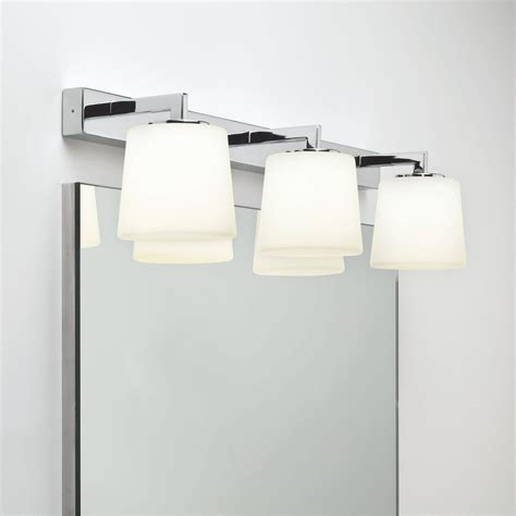 astro lighting 7093 triplex ip44 chrome bathroom mirror