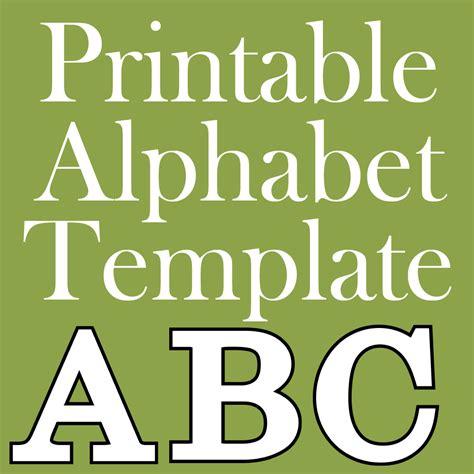 Print Letters Free free printable letters make breaks
