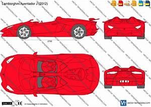 Templates cars lamborghini lamborghini aventador j for Lamborghini template