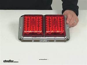 Bargman Led Double Tail Light - 4 Function
