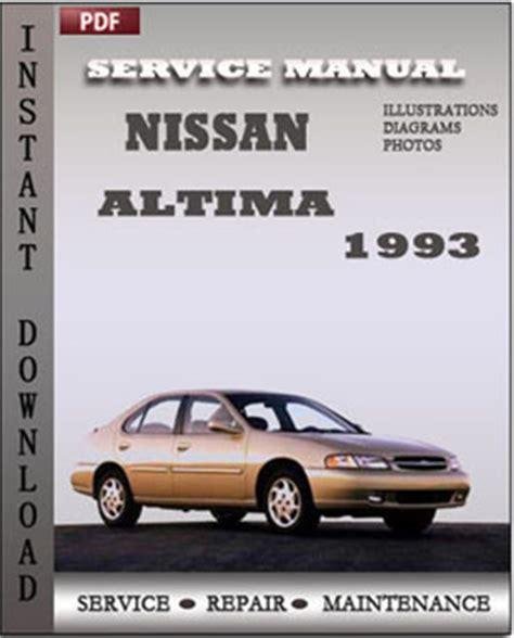 free auto repair manuals 1996 nissan altima regenerative braking nissan altima 1993 free download pdf repair service manual pdf