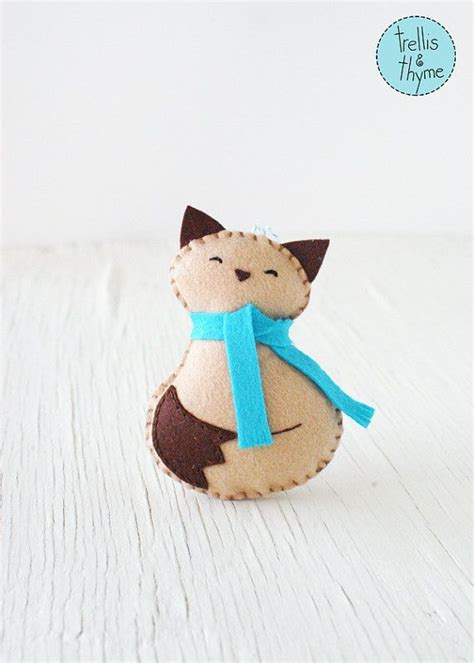 Cruelty Free Kitty Template For by The 25 Best Felt Ornaments Patterns Ideas On Pinterest